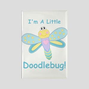 Doodlebug! Rectangle Magnet