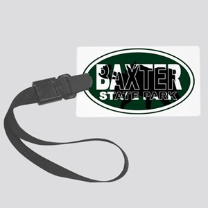 Baxter Oval Large Luggage Tag