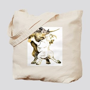 tango-rhino Tote Bag