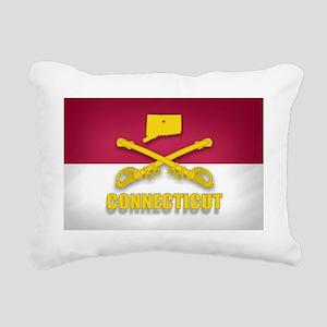 Connecticut Cavalry (sha Rectangular Canvas Pillow