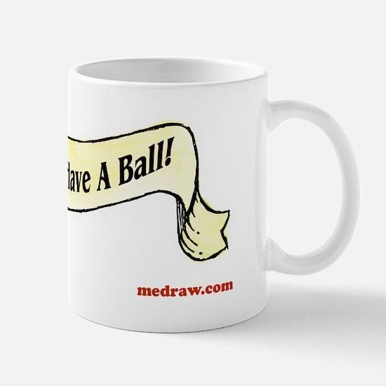 floydball back tripawds ball shirt Mug