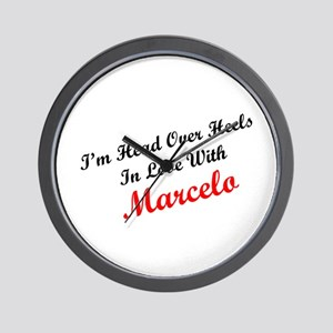 In Love with Marcelo Wall Clock