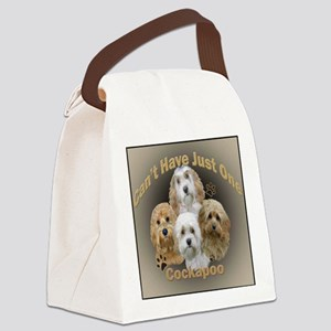 Cockapoo Cant Have Just One Canvas Lunch Bag