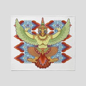 Garuda Throw Blanket
