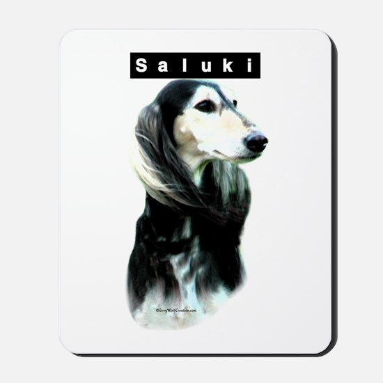Saluki Head Mousepad