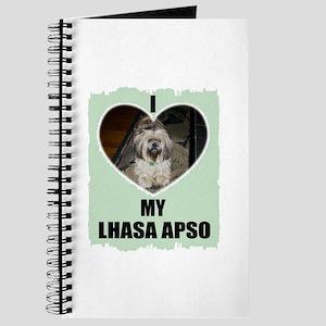 I LOVE MY LHASA APSO Journal