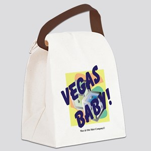 vegas-baby Canvas Lunch Bag