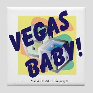 vegas-baby Tile Coaster
