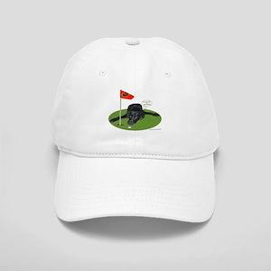 Black Lab Golfer Cap