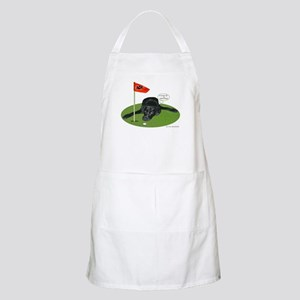 Black Lab Golfer BBQ Apron