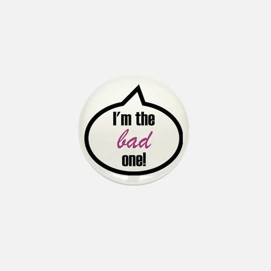 Im_the_bad Mini Button