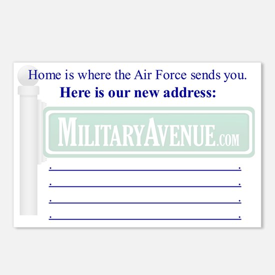 Air Force: Address Change Postcard