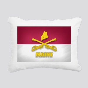 Maine Cavalry (shadow)(3 Rectangular Canvas Pillow