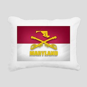 Maryland Cavalry (shadow Rectangular Canvas Pillow