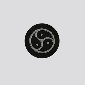 s and m marble Mini Button