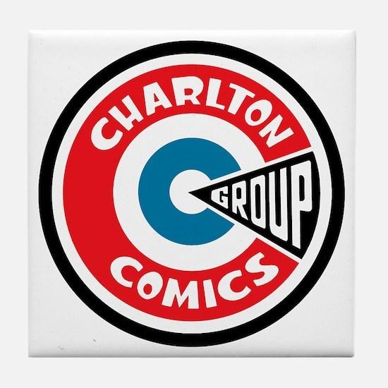 finished_charlton_logo Tile Coaster