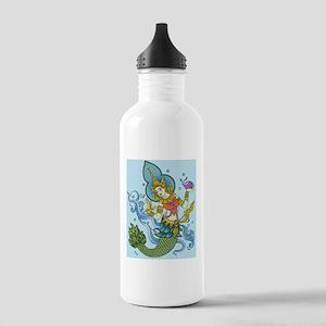 hindu mermaid Stainless Water Bottle 1.0L