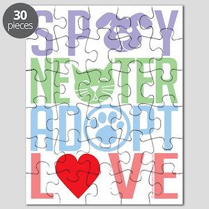 Spay-Neuter-Adopt-Love-2010 Puzzle