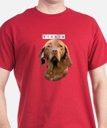 Vizsla Head T-Shirt
