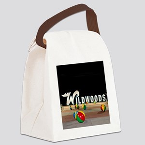 Wildwoods Sign Wildwood New Jerse Canvas Lunch Bag
