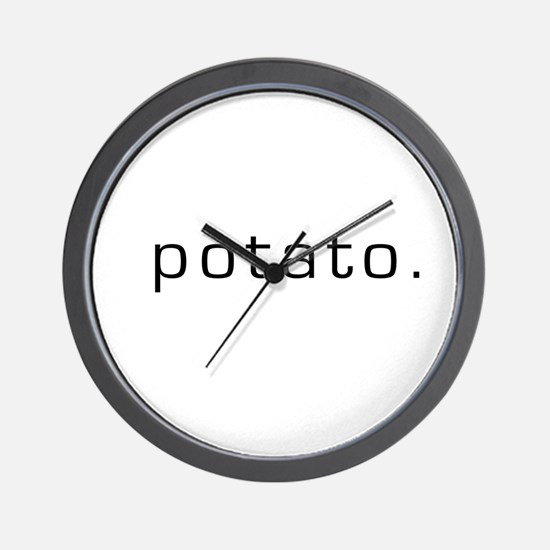 Potato Wall Clock