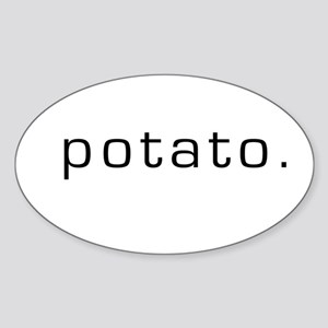 Potato Oval Sticker