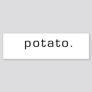 Potato Bumper Sticker