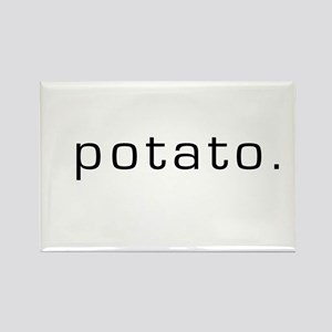 Potato Rectangle Magnet