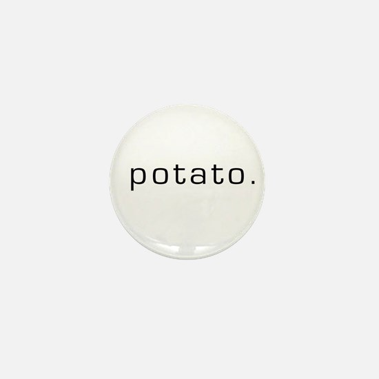 Potato Mini Button