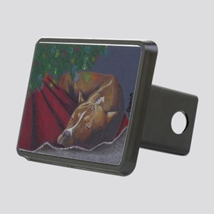 Silent Night - Raven Rectangular Hitch Cover