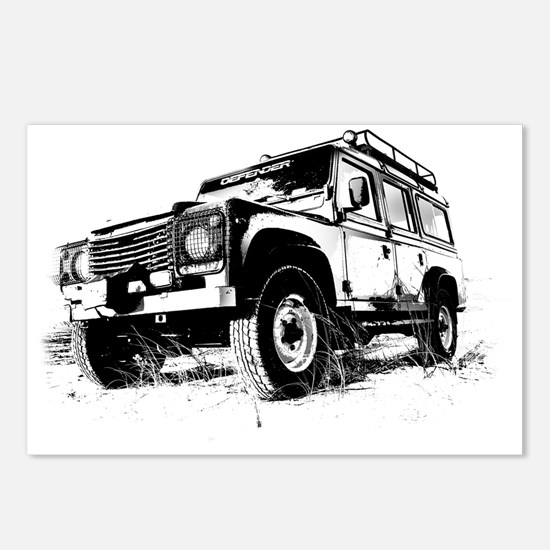 Land Rover Postcards (Package of 8)