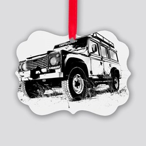 Land Rover Picture Ornament