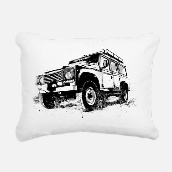Land Rover Rectangular Canvas Pillow