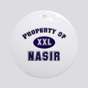 Property of nasir Ornament (Round)