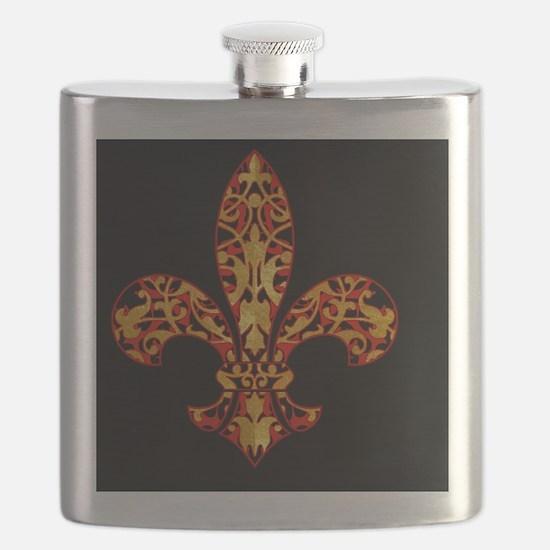 FilagreeGoldLfleur1bc Flask