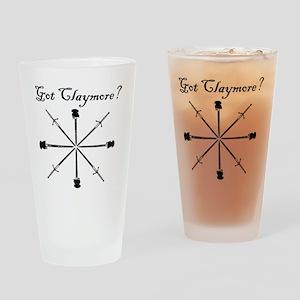 got-claymore001c Drinking Glass