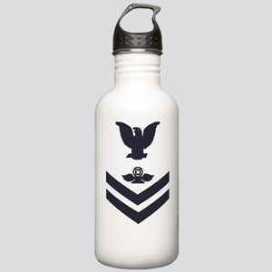 Navy-Rank-AC2-Whites-P Stainless Water Bottle 1.0L