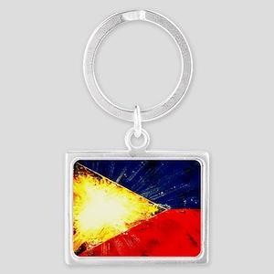 myflag1 Landscape Keychain