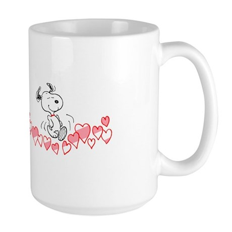 Happy Hearts Large Mug