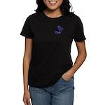 Kokopelli Bowler Women's Dark T-Shirt