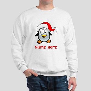 Penguin Santa Sweatshirt