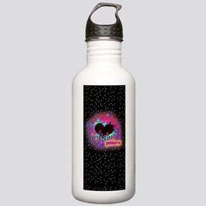 twilight princess blac Stainless Water Bottle 1.0L