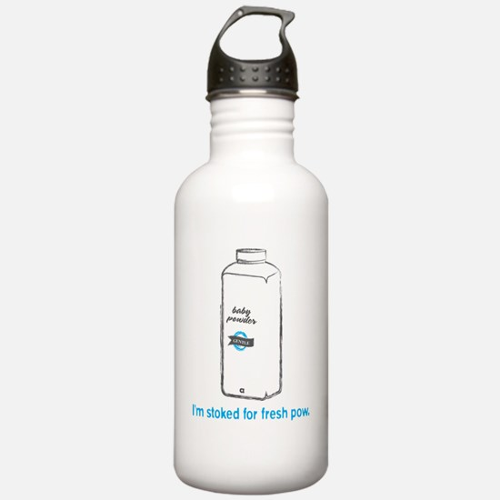 Snowsports_PowPow_Blue Water Bottle