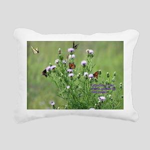 Calendar Cover Butterfli Rectangular Canvas Pillow