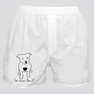 love-a-bull_light Boxer Shorts