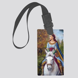 DSCN3261 marian up port Large Luggage Tag