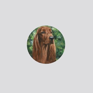 Irish_Setter_M Mini Button