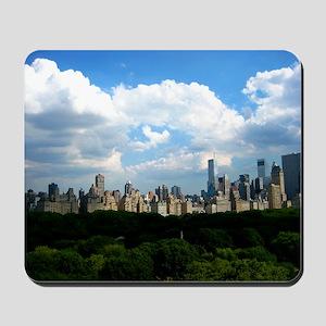 New York Skyline Above Central Park Mousepad