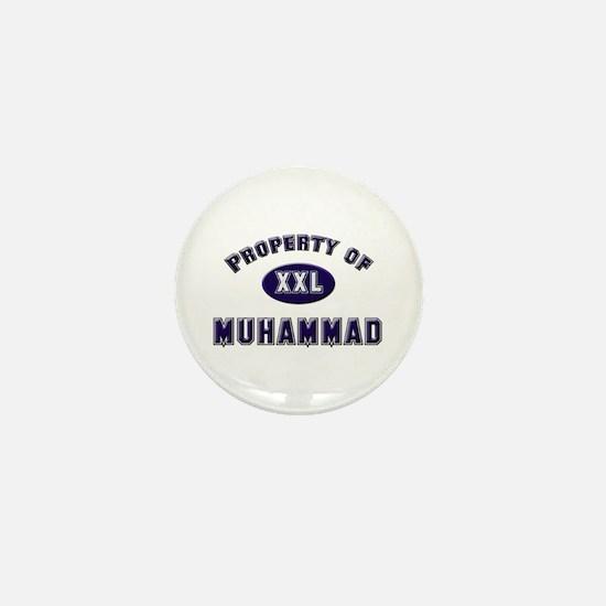 Property of muhammad Mini Button