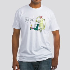 CP_MEANit Fitted T-Shirt